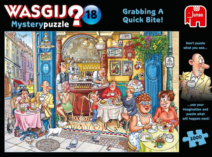 "Pusle ""Wasgij Mystery 18, Grabbing a Quick"" 1000 tk"