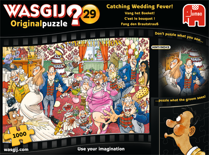 Wasgij Orignal 29 Catching Wedding Fever!