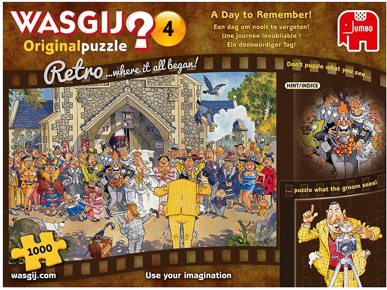 Pusle ''Wasgij Retro Original 4 A Day to Remember!'' -1000tk