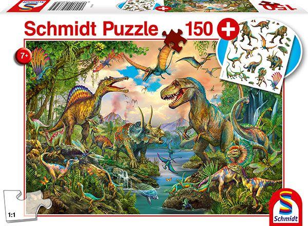 "Pusle ""Wild Dinosaurs"" 150 tk"