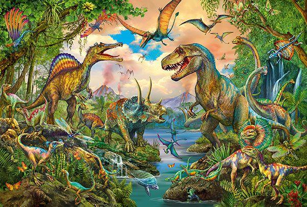 Wild dinosaurs (tattoo), 150 pcs