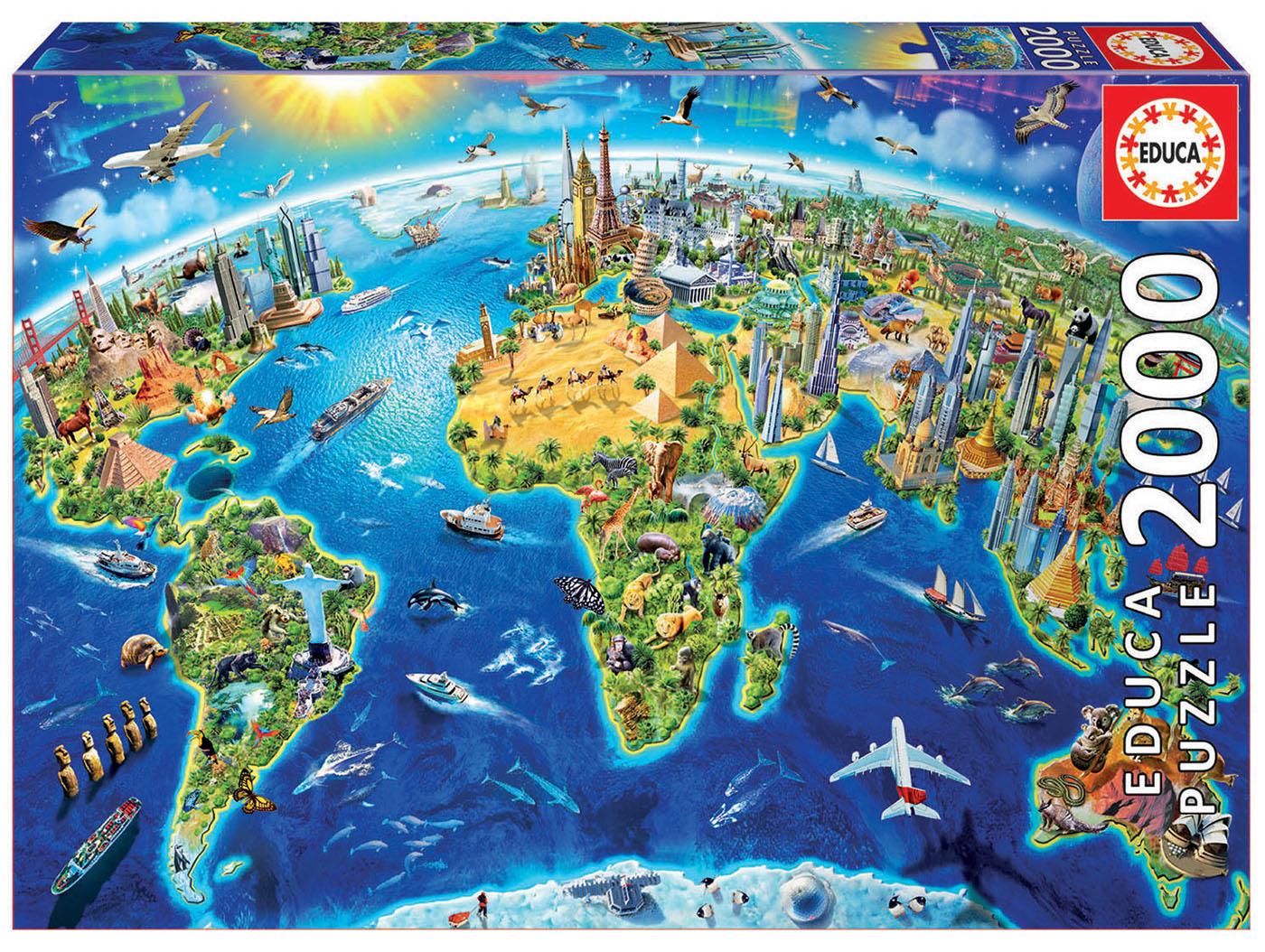 "Pusle ""World landmarks globe"" 2000 tk"