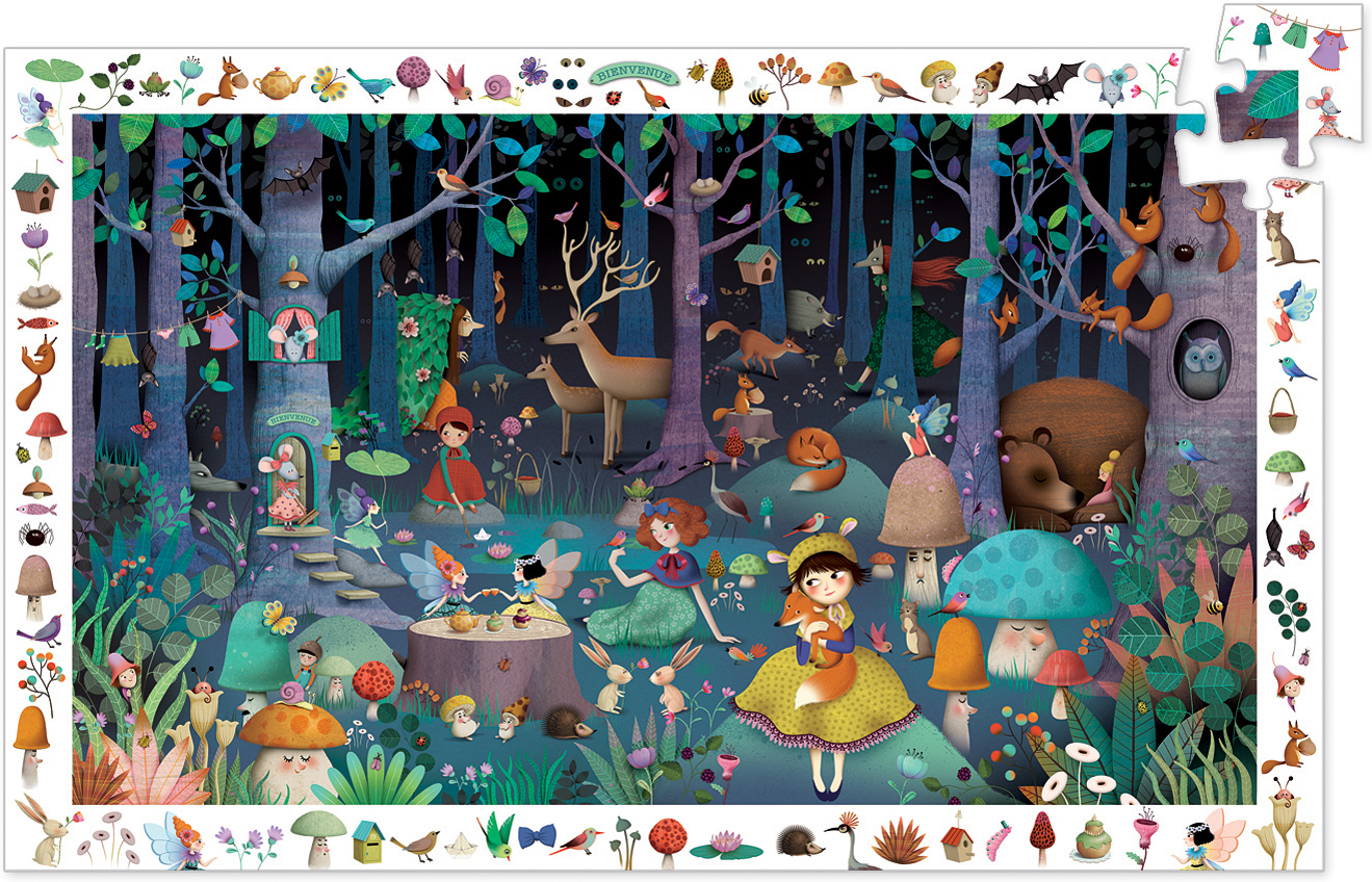 Pusle observation puzzles - Enchanted Forest 100 tk