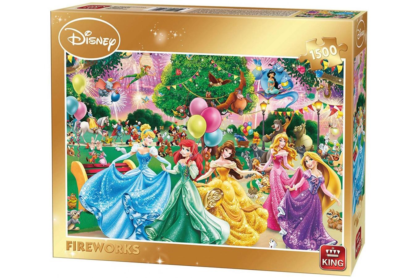 Puzzle Disney Fireworks 1500 tk