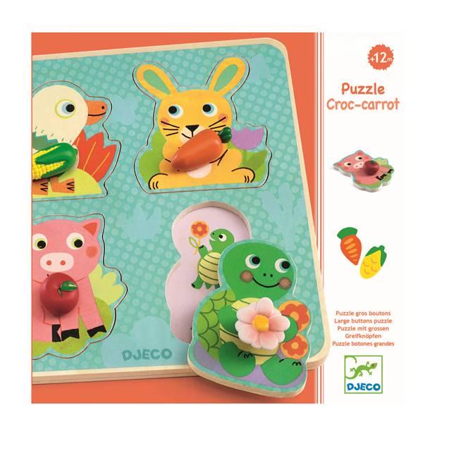Relief puzzles - Croc-carrot