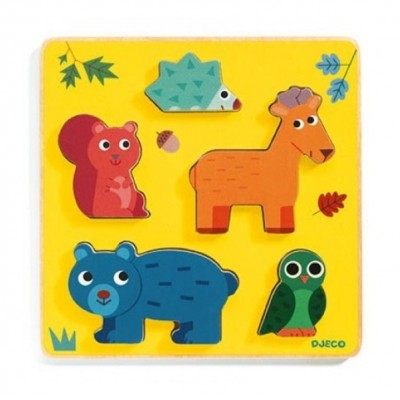 Wooden Puzzles - Relief puzzles -  Frimours