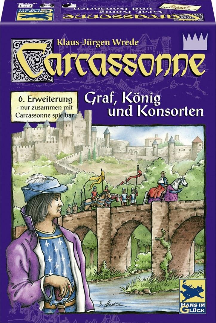 Carcassonne: Krahv, kuningas ja kaaskond