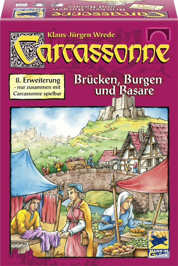 Carcassonne: Sillad, kindlused ja turud