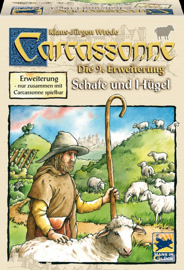 Carcassonne: Lambad ja mäed