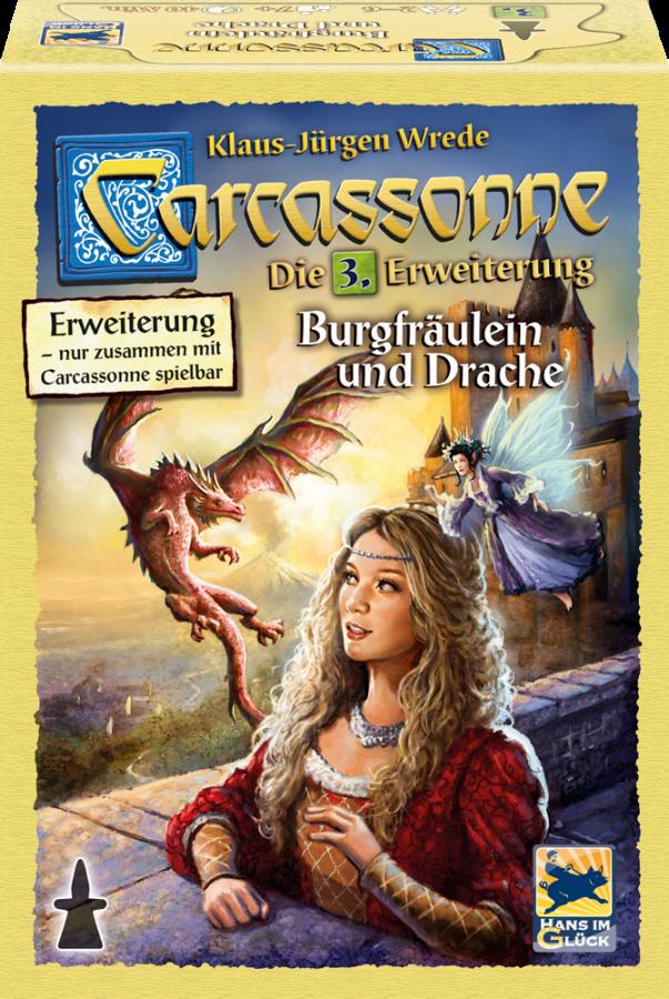 Carcassonne: Printsess ja draakon - UUS