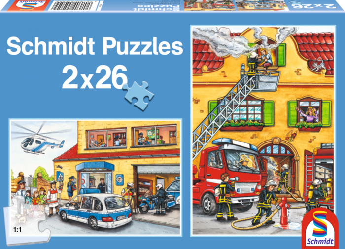 Pusle: Fire Brigade and Police, 2x26