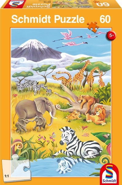 "Pusle ""Animals of the Savanna"" 60 tk"
