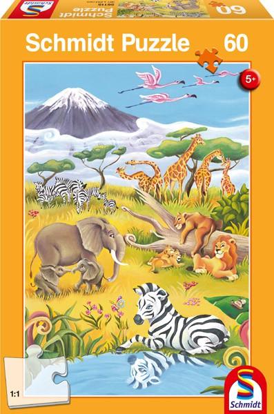 "Pusle ""Animals of the Savanna"" 60"