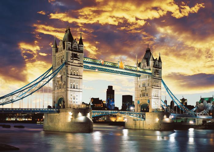 Pusle: Tower Bridge London, 1000