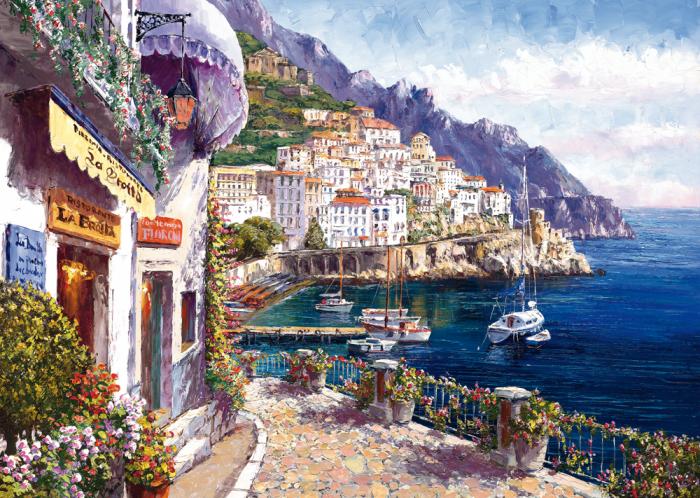 Pusle Afternoon in Amalfi, 2000
