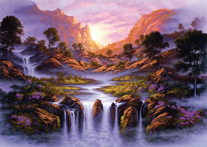 """Pusle """"Rattenbury,Wasserfall"""" 1000"""