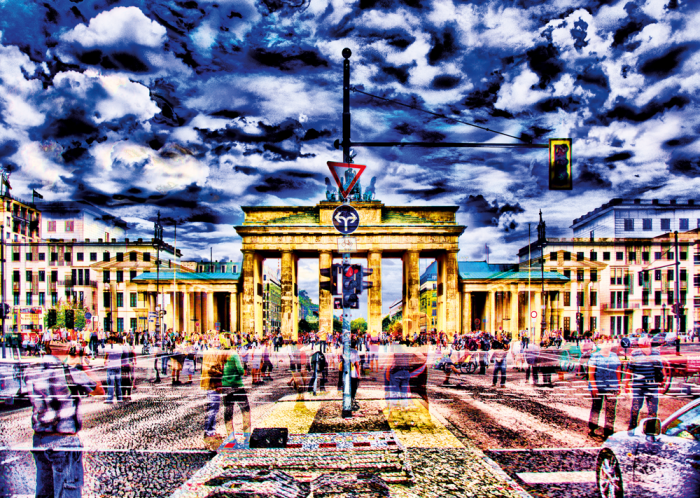 Pusle Brandenburg Gate, Berlin, 1000