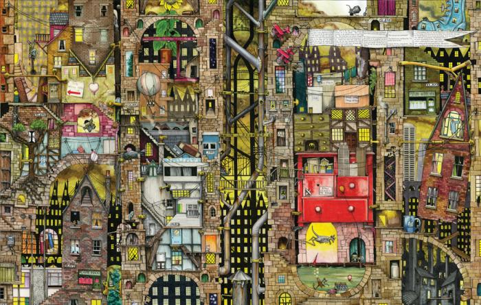 Pusle Fantastic Townscape, 1000