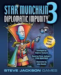 Munchkin Star 3 Diplomatic Impunity