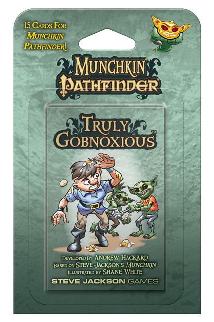 Munchkin Pathfinder Truly Gobnoxious