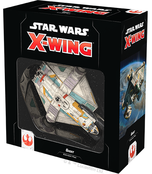 Star Wars X-Wing Ghost Exp. Pack