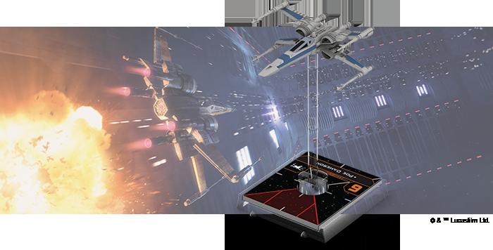 Star Wars X-Wing T-70 X-Wing