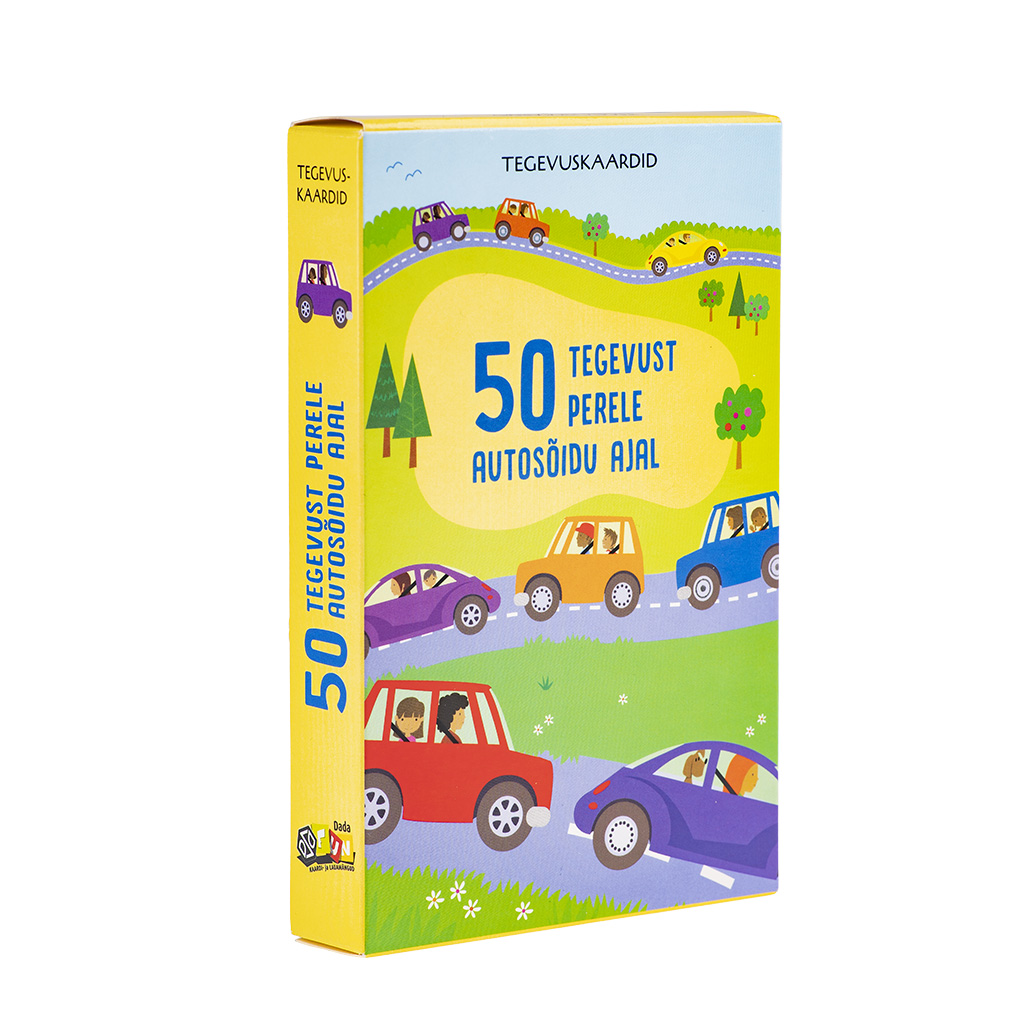 50 tegevust perele autosõidu ajal