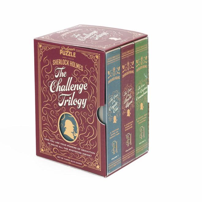 The Challenge Trilogy - Sherlock Holmes