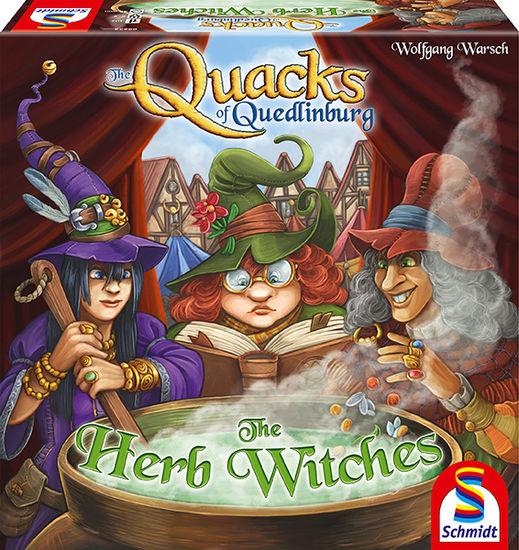 Quacks of Quedlinburg: Herb Witches expansion