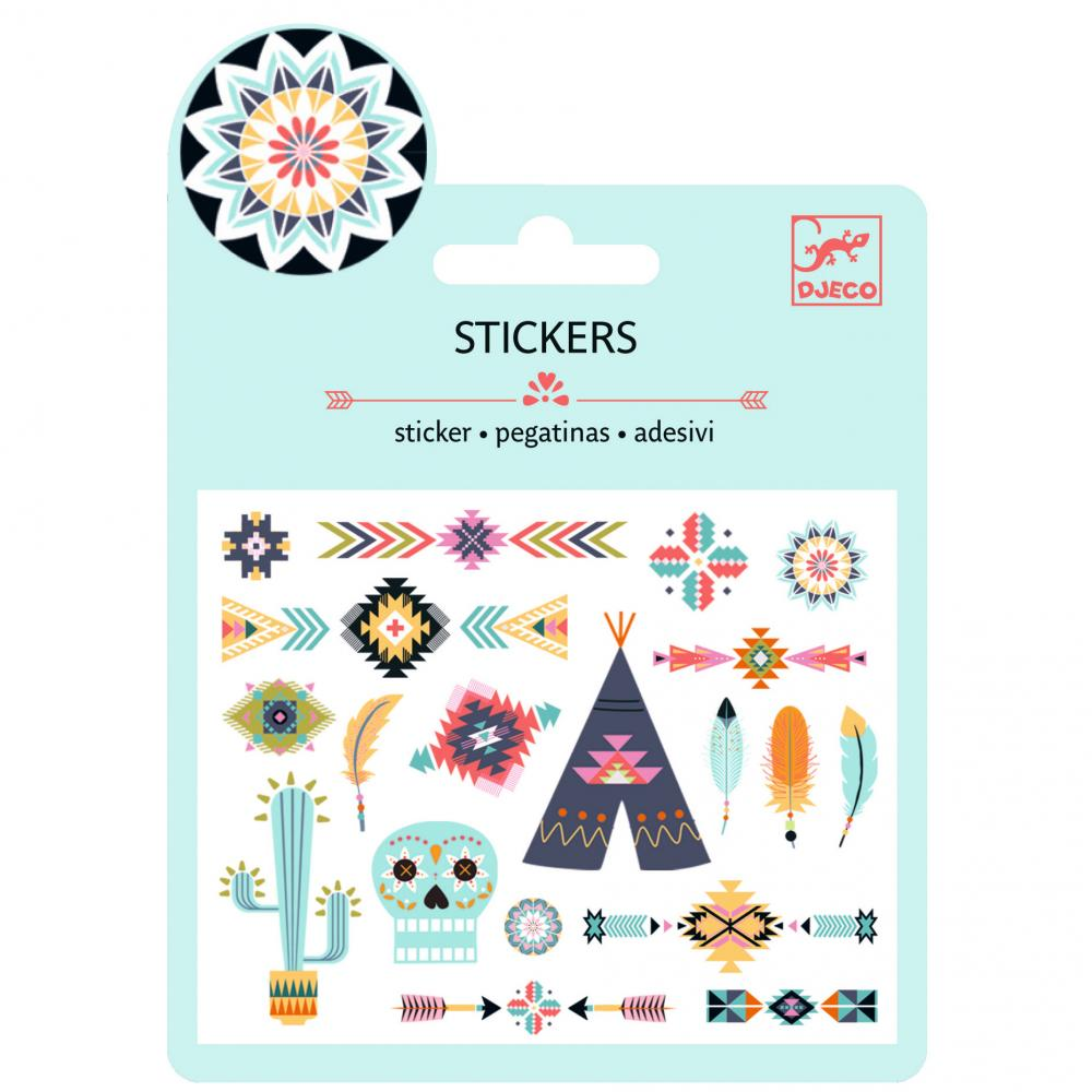 Small stickers - Western style
