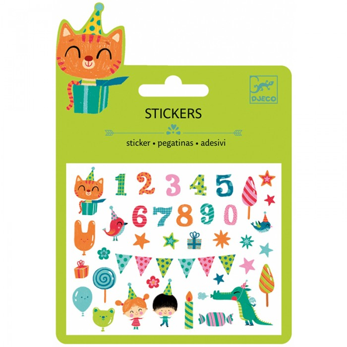 Small stickers - Birthday