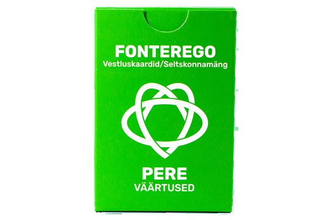Vestluskaardid: Pere I