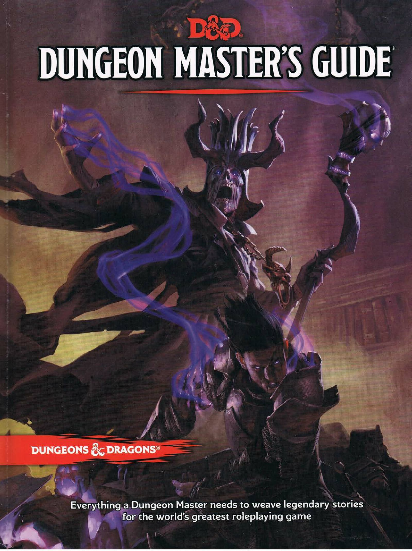 D&D 5th Ed. Dungeon Master's Guide