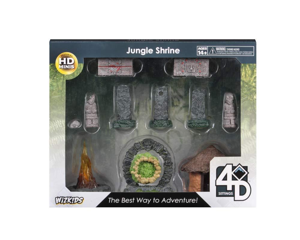 WizKids 4D Set Jungle Shrine