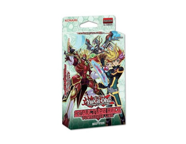 YGO Powercode Link Structure Deck