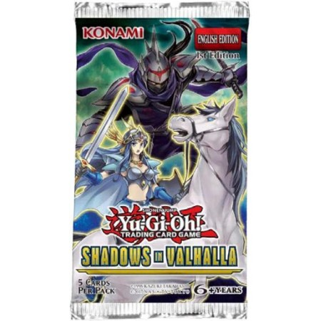 YGO Shadows In Valhalla Booster