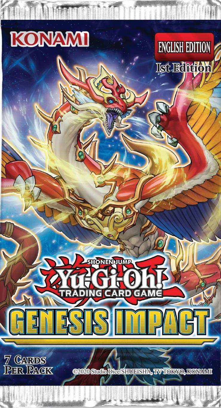 Yu-Gi-Oh Genesis Impact Booster