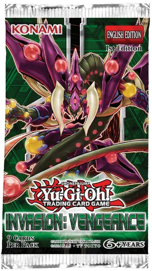 Yu-Gi-Oh Invasion Vengeance Booster