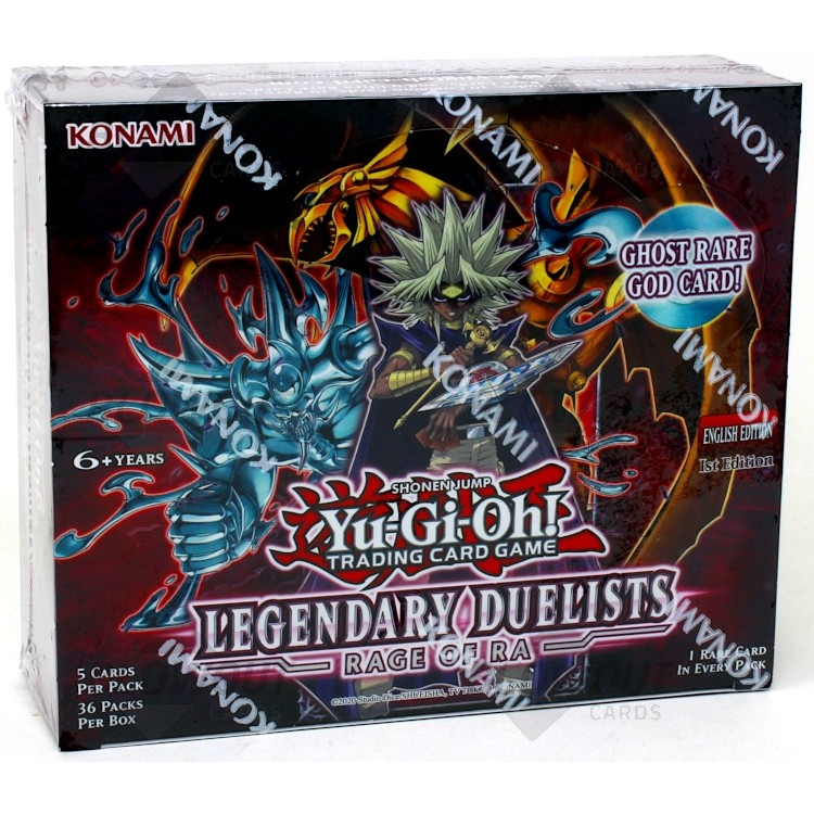 Yu-Gi-Oh Legendary Duelists Rage of Ra Booster