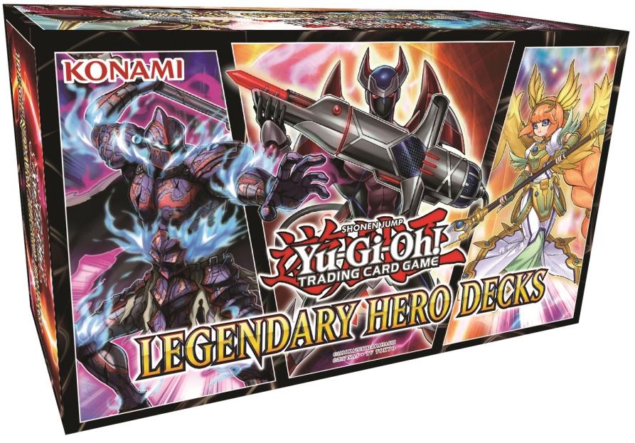 Yu-Gi-Oh Legendary Hero Decks
