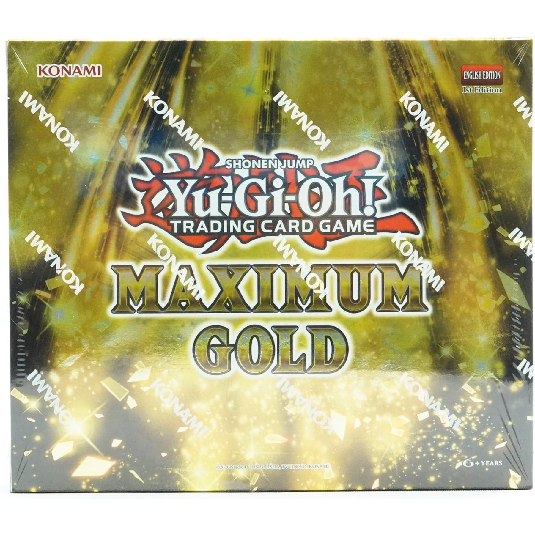 Yu-Gi-Oh Maximum Gold Box