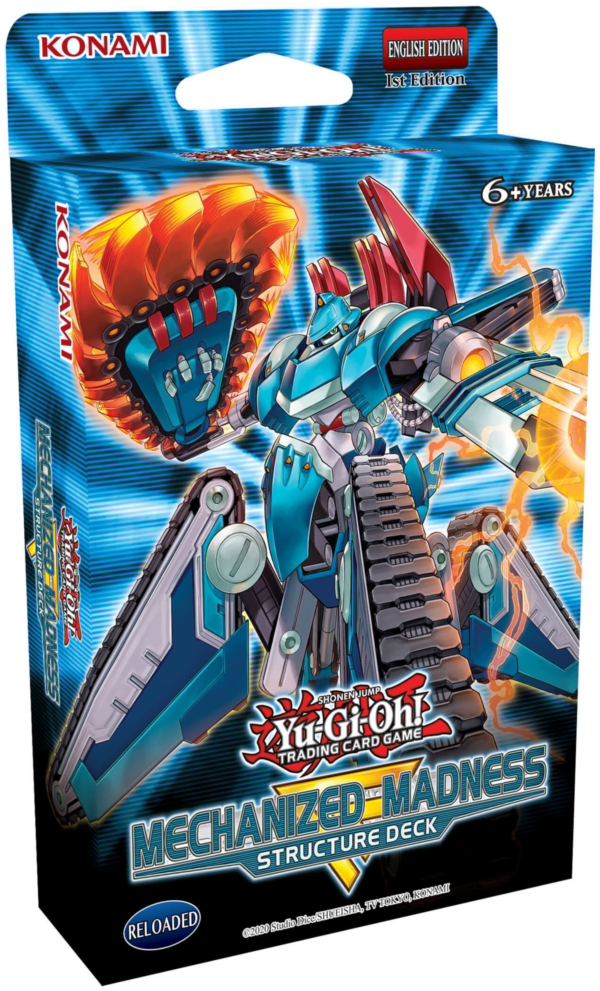 Yu-Gi-Oh Mechanized Madness Structure Deck