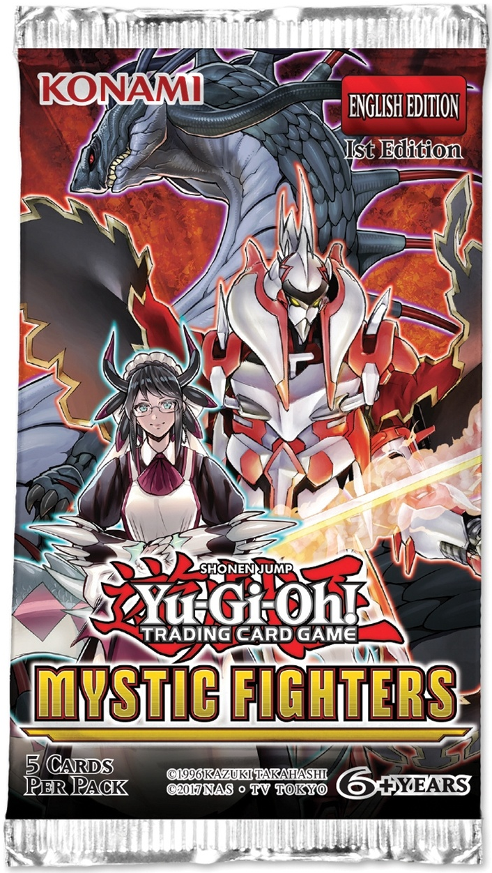 Yu-Gi-Oh Mystic Fighters Booster