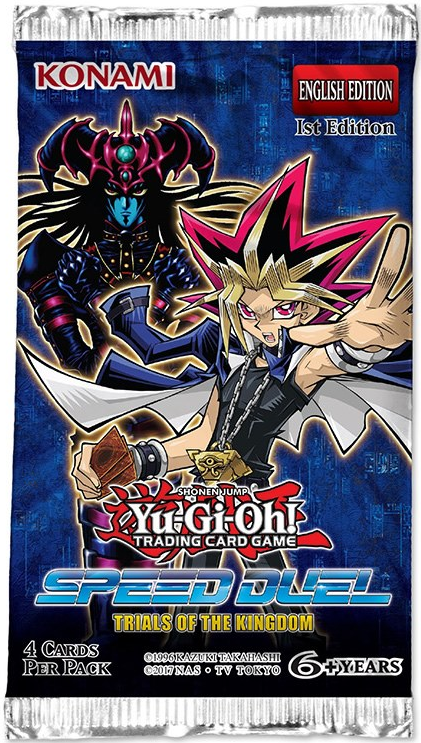 Yu-Gi-Oh Trials of the Kingdom Speed Duel Booster