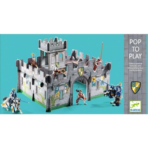 Pop to play - Keskaegne Kindlus 3D