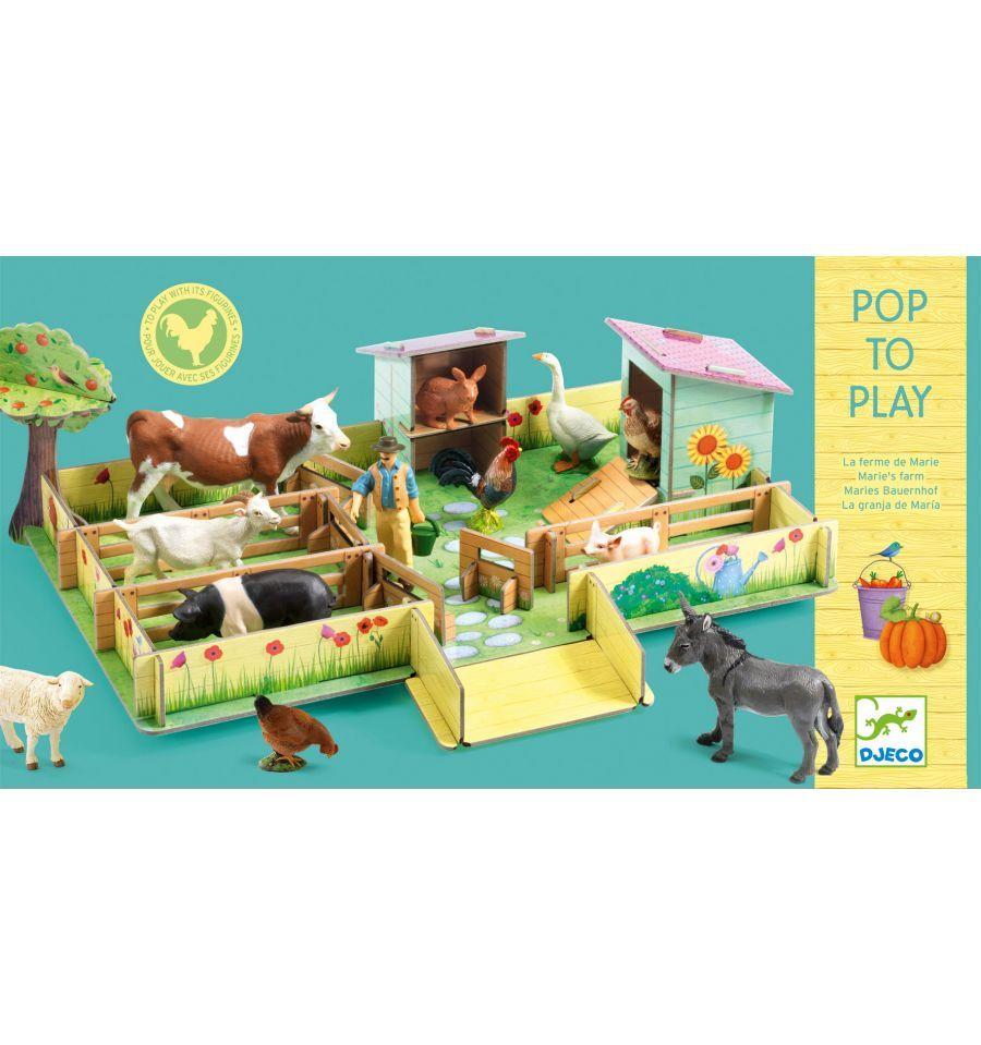 Pop to play - Marie Farm 3D
