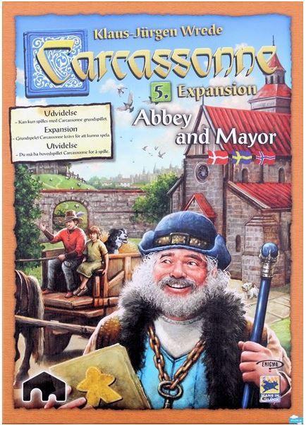 Carcassonne: 5 - Kirik ja linnapea (Scandi)
