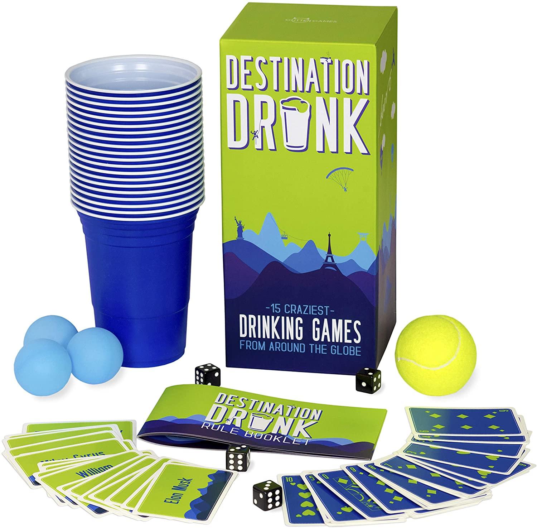 Destination Drunk - 15 Craziest Drinking Games