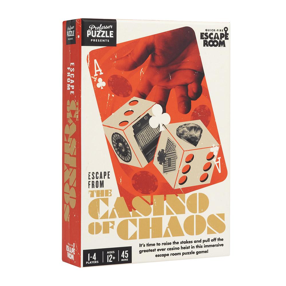 """Escape Room """"Escape from the Casino of Chaos"""""""