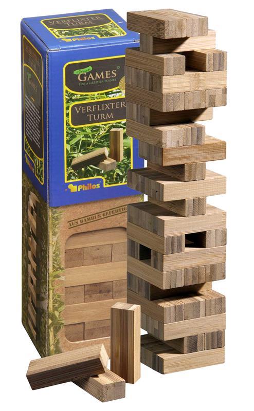 Tumbling Tower, bamboo